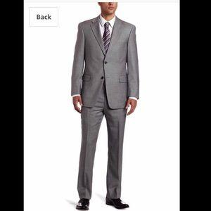 GRAY SHARKSKIN SUIT (Jacket and Pants)
